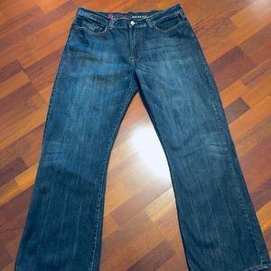 Men's Guess Bootcut Jeans